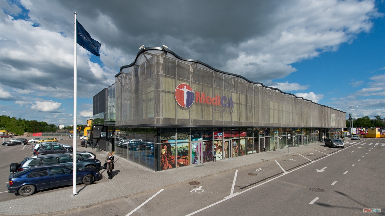 ALPHAMESH / IKI Shopping Centre, Lithuania