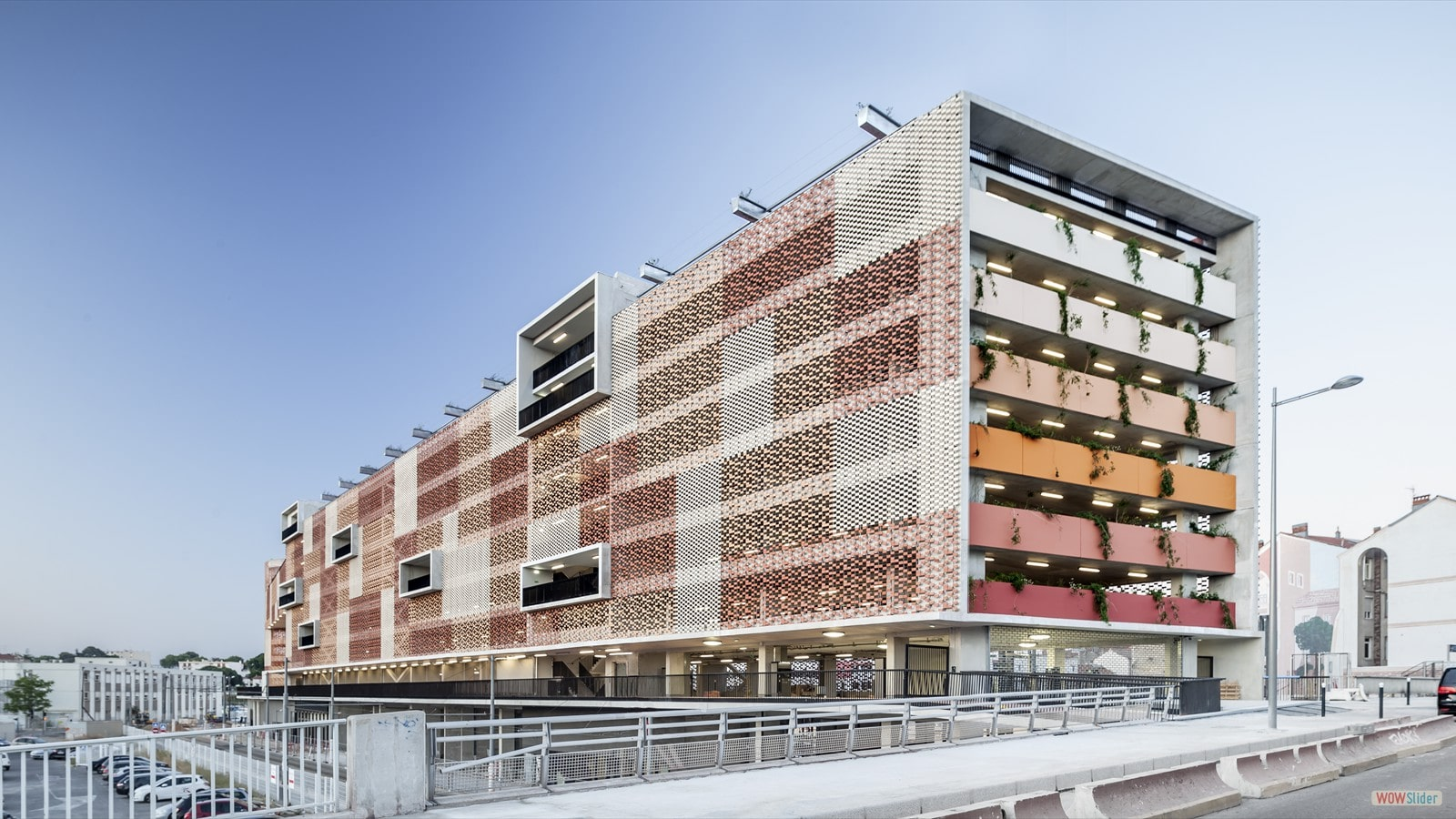 FLEXBRICK / Parking Saint Roch, France